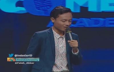 falah Akbar jakarta stand up comedy academy indosiar