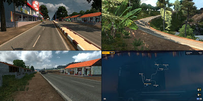 Map New M.D.E.I v1.2 - ETS2 V1.30 - 1.34