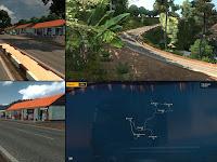 Map New M.D.E.I v1.2 - ETS2 V1.30 - 1.34