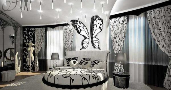 black white decoration ways to your bedroom | black and white bedrooms designs, paint, furniture ...