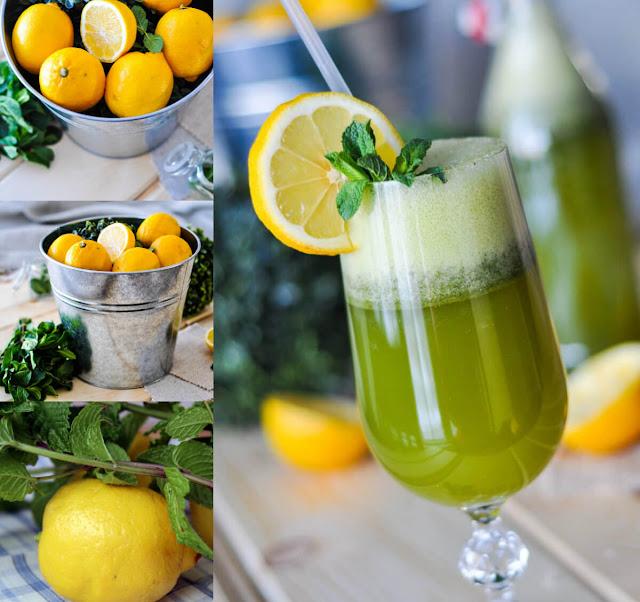 أحلى وأسهل طريقة لعمل عصير الليمون بالنعناع في المنزل!