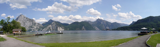 Dedicated Cycling Paths with Incredible Scenery such as Traunsee, Austria