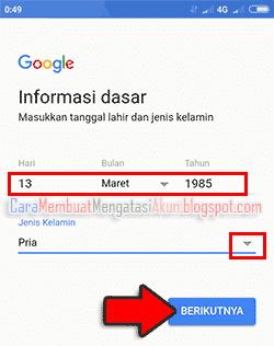 cara membuat email baru lewat hp xiaomi