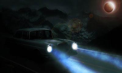 Manipulasi Lampu Mobil Photoshop