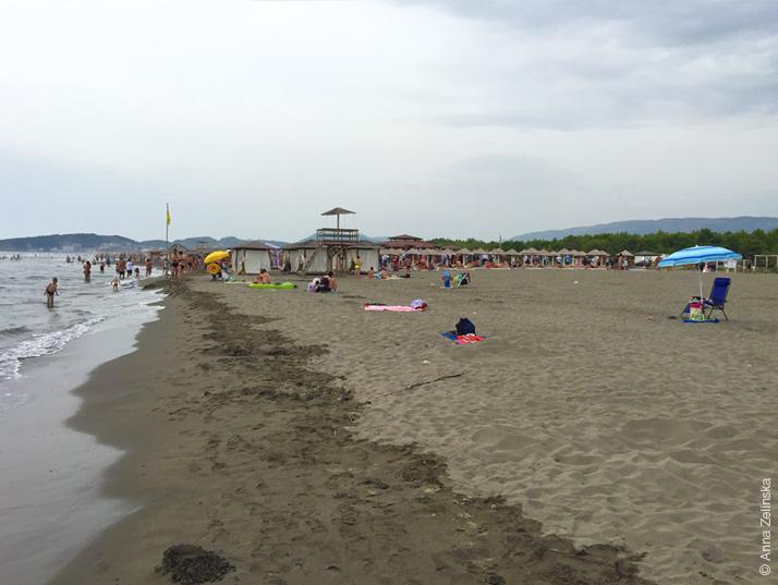 Велика плажа, Черногория
