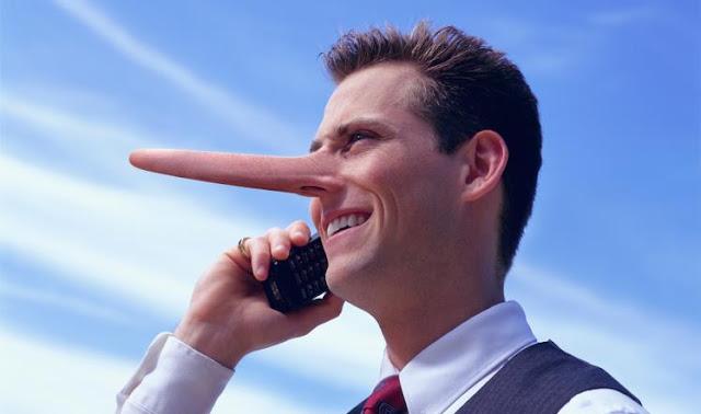 الشخص الكاذب