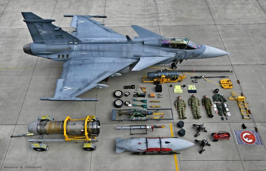 Винищувач Gripen угорських ВПС