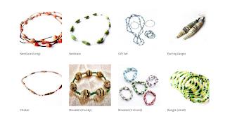 Amanicraft Paper Jewellery