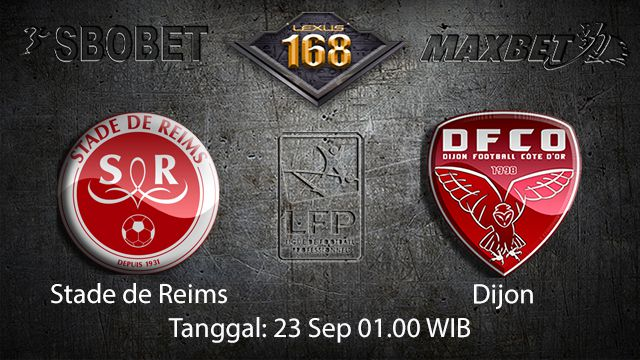 Prediksi Bola Jitu Stade de Reims vs Dijon 23 September 2018 ( French Ligue 1 )