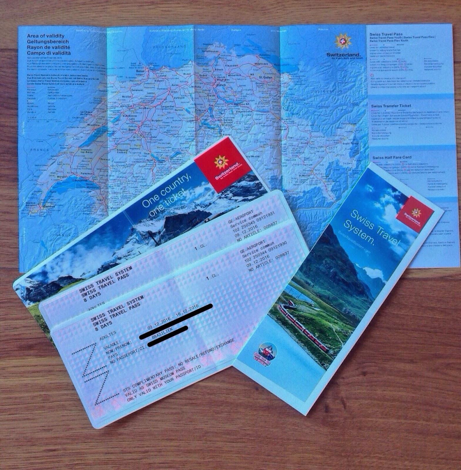 Swiss Travel Pass-roteiro Suíça  8 dias