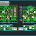 مخطط مشروع منزل كبير فيلا تصميم مميز اوتوكاد dwg