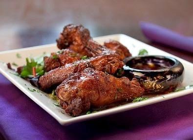 Pollo con salsa de soja y miel