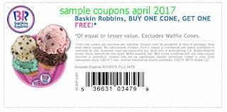 Baskin Robbins Coupons 2019 Printable