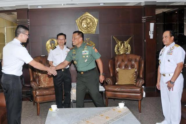 Panglima TNI Terima Kasal Singapura