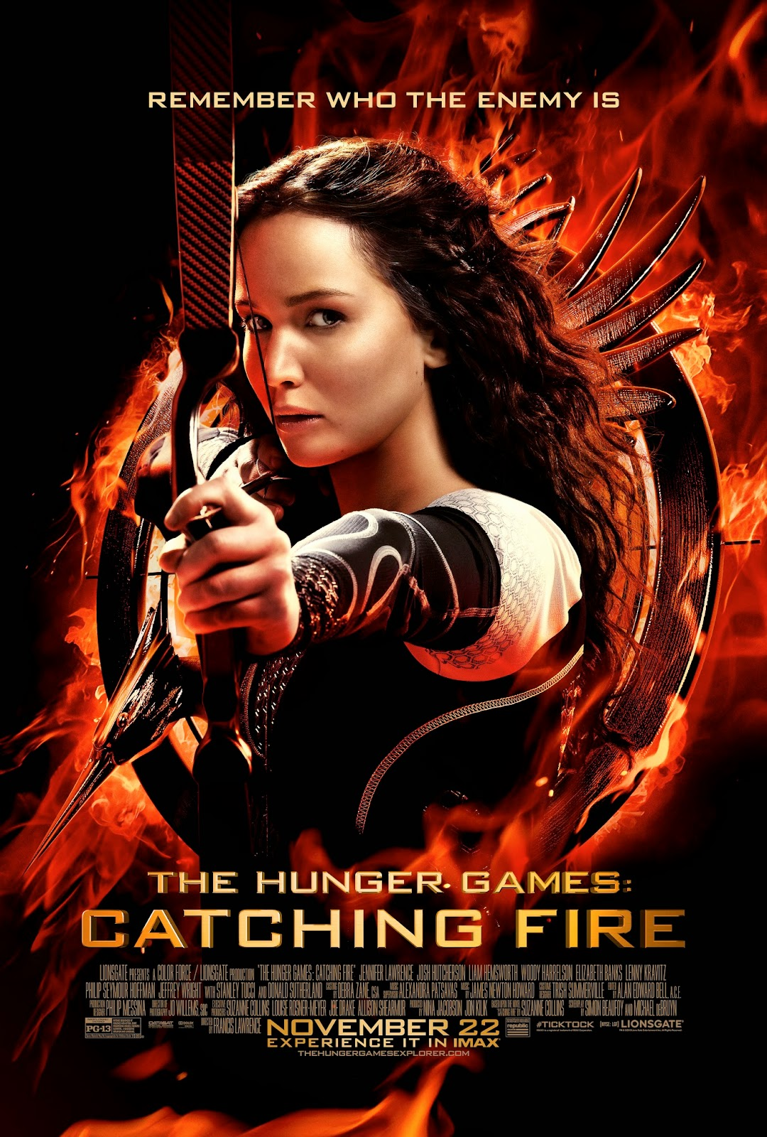 Hunger Games - Catching Fire Movie Poster