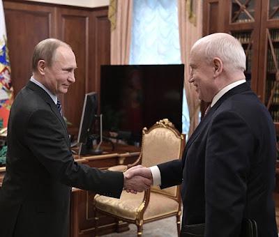 Vladimir Putin, Sergei Lebedev.