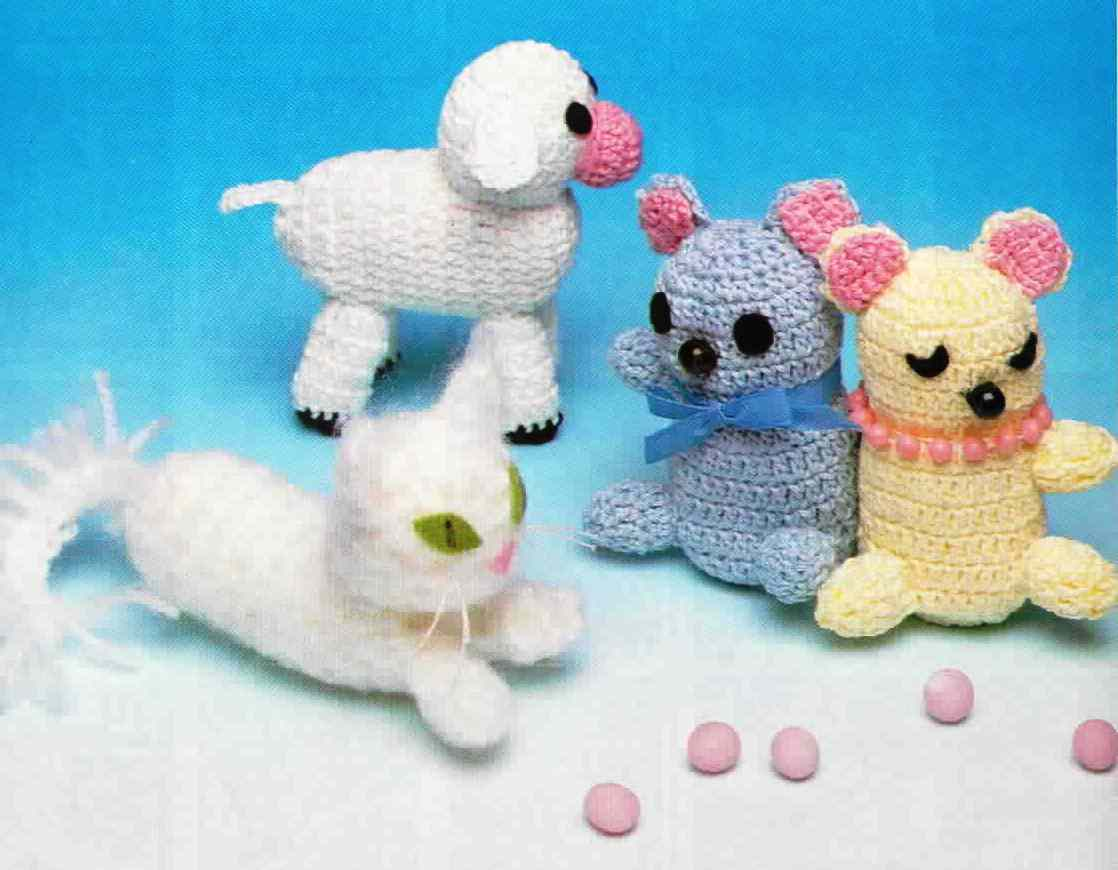 Top 10 Best Amigurumi Animal Free Crochet Patterns - Crochet.msa.plus | 870x1118