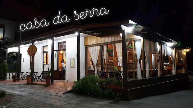 Restaurante Casa da Serra em Canela