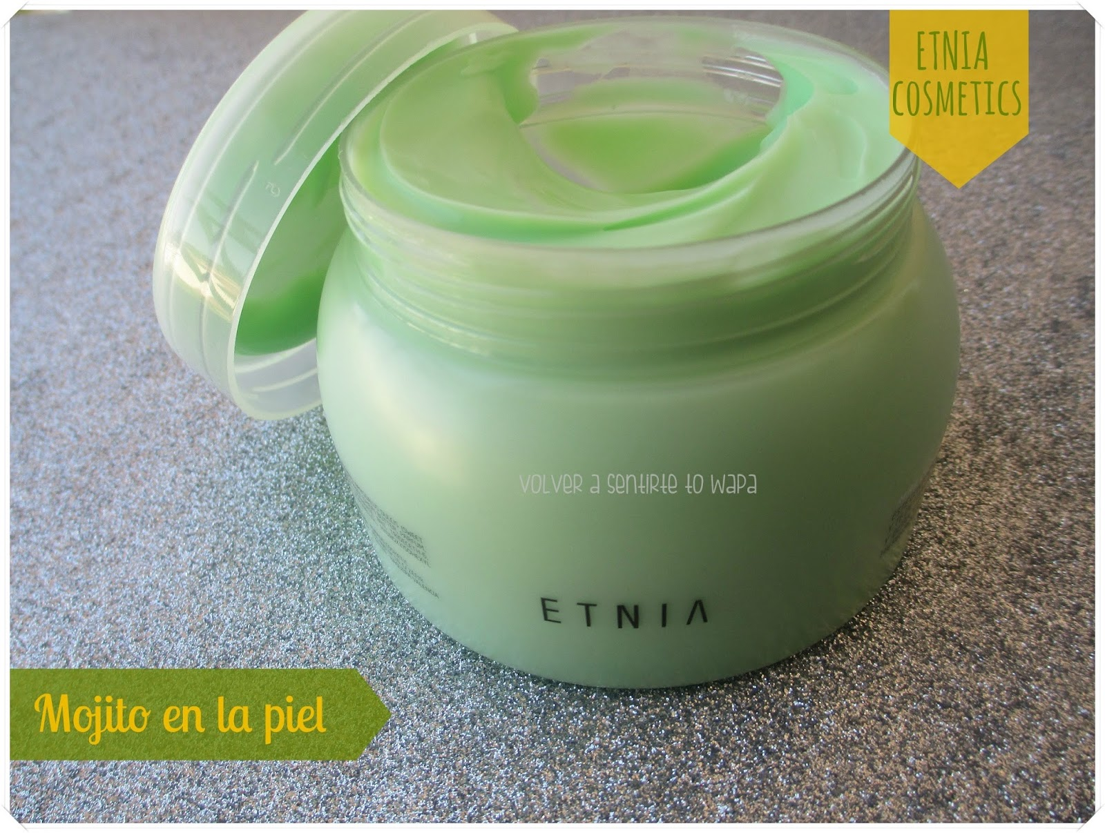 Body Cream Mojito de Etnia Cosmetics
