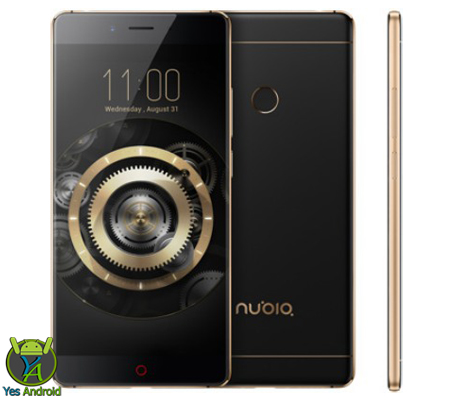 Intel Quad zte nubia z11 gold black spent