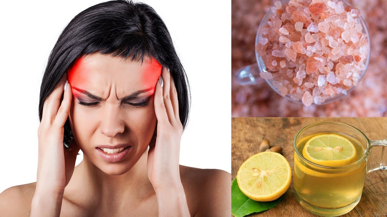Here's How To Instantly Stop A Migraine Headaches With Himalayan Salt