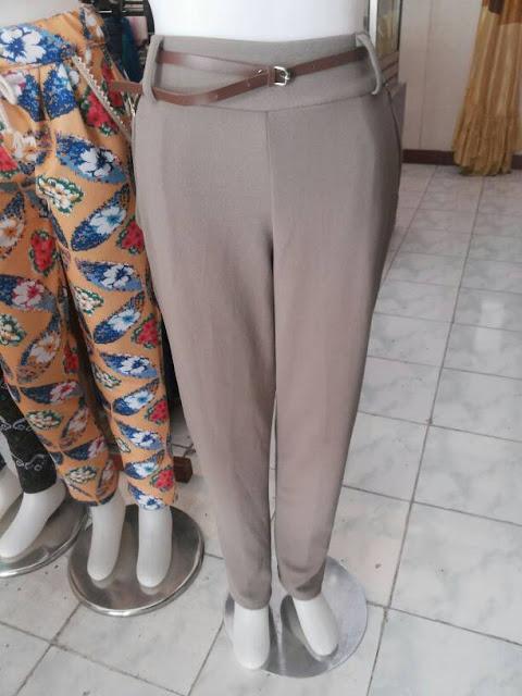 Butik Jual Celana Bahan Wedges Import