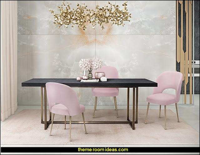 Blush Pink furniture  Blush pink decorating - blush pink decor - blush and gold decor - blush pink and gold bedroom decor -  blush pink gold baby girl nursery furniture - blush art prints - rose gold bedroom decor -  blush black bedroom decor - blush mint green decor - Blush Black Gold Glitter home decor