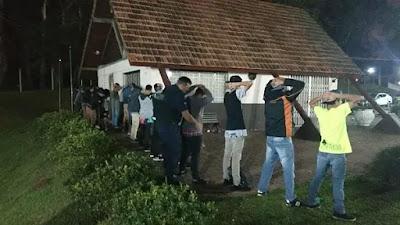 Polícia Militar e Guarda Municipal de Quatro Barras (PR) realizam operação de combate a criminalidade