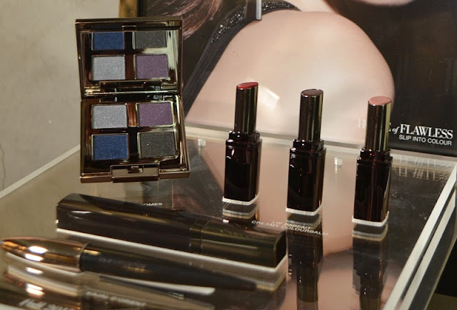Rediscovery of Glam, Laura Mercier Fall 2015 Collection, Lip Parfait Creamy Colourbalm, Eye Chromes, Kajal d'Orient Noir Supreme, Candleglow Luminizing Palette & Candleglow Lip Glacés, Extra Lash Sculpting Mascara