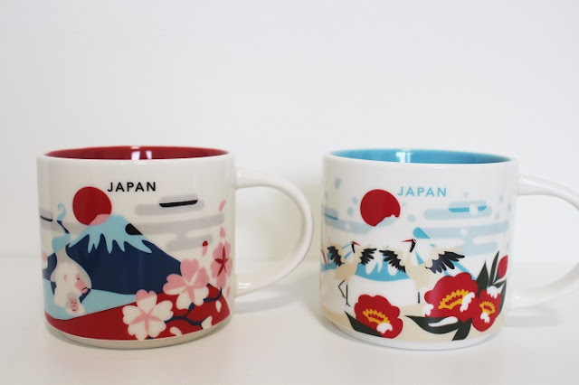 Starbucks You Are Here Collection Mug Japan Winter