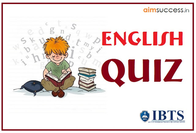 English MCQs for SBI PO/Clerk 2018: 08 June