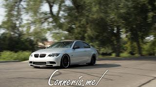 BMW 335i E92 roller left