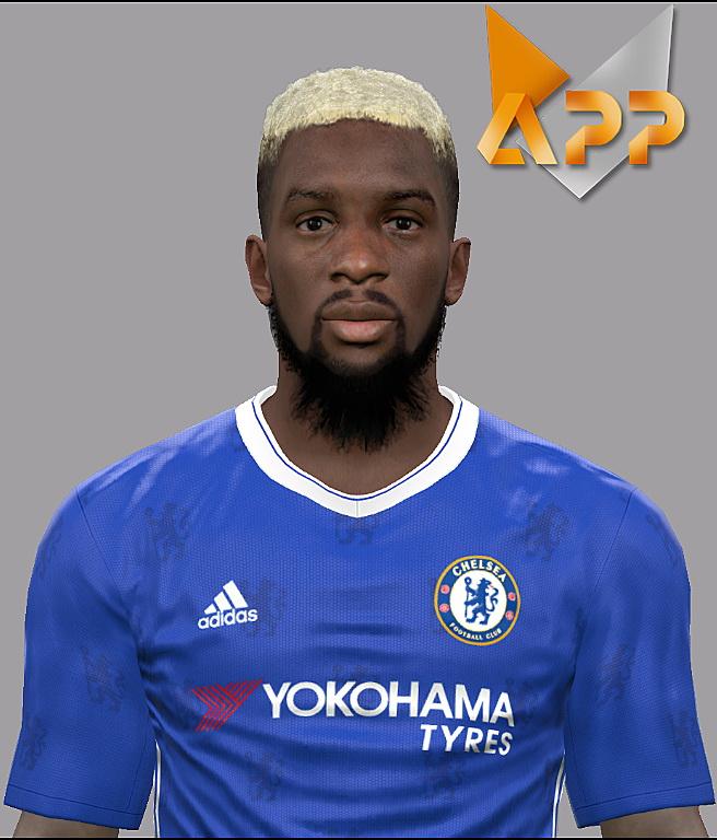 PES 2017 Tiémoué Bakayoko (Chelsea) Face by Litos Facemaker