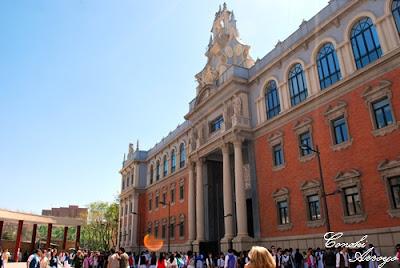 edificio del campus de la Merced de Murcia de 1272 perteneciente a la universidad