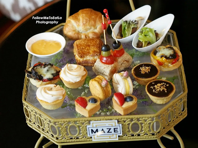 MAZE Hi-Tea  Set Menu RM 78++ Per Set  For Two