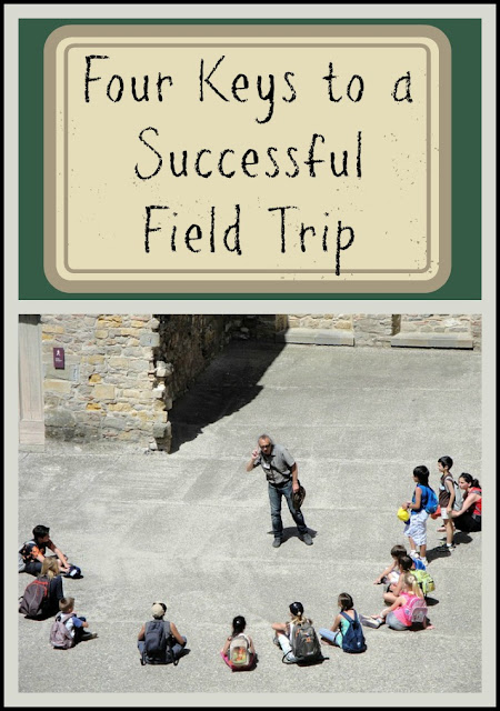 Four things to keep in mind as you get ready to go on a great homeschool field trip with your homeschooling group!