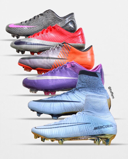 save off a2db8 e677b Here Is The Full History Of The Nike Mercurial Superfly ...