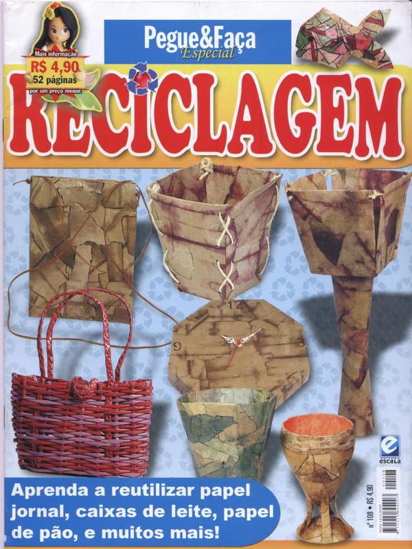 Pegue  E Faça Especial Reciclagem N°108-Revista Reciclagem