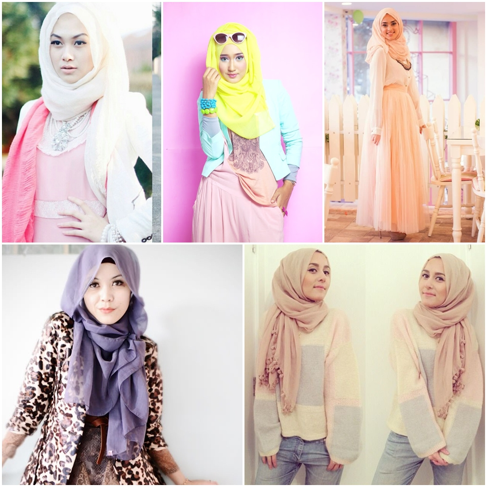 Gaya Fashion Hijab Terbaru