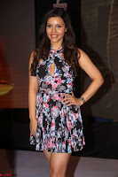 Kyra Dutta in a Deep neck Small Dress at Shamanthakamani pre release function ~  Exclusive 118.JPG