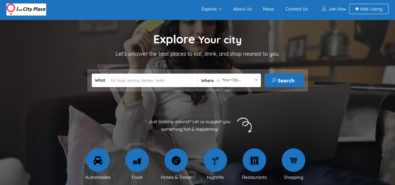 Just City Place: Free Local Business Listing Site in India 2019