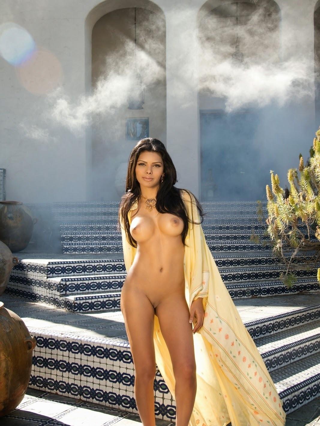 Of Nude Sherlyn Chopra Photoshoot