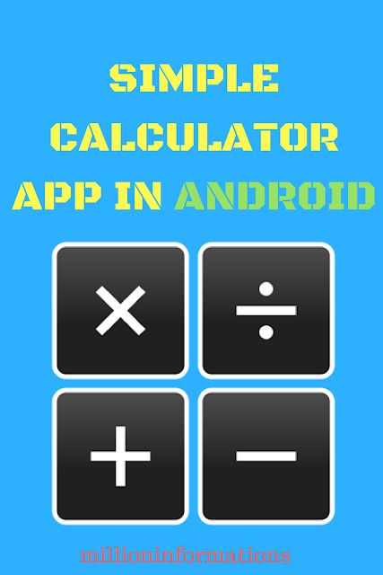 Simple Calculator app in Android