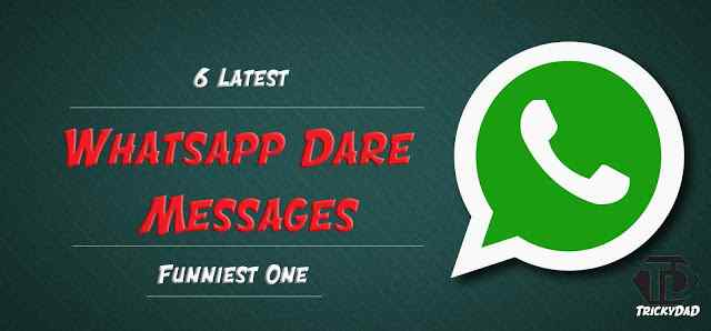 whatsapp dares