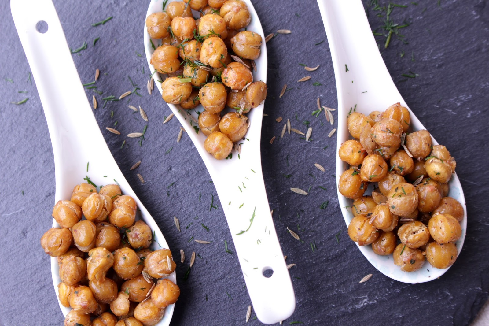 Crunchy spicy cheekpeas