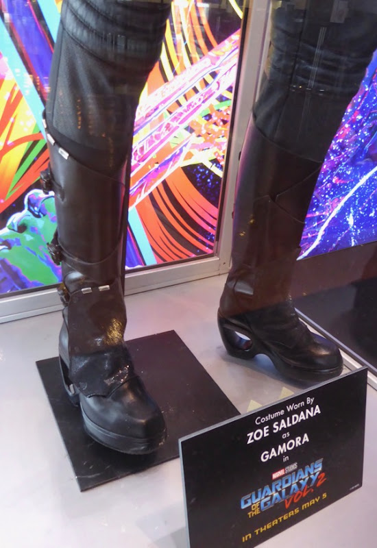 Guardians of the Galaxy 2 Gamora boots
