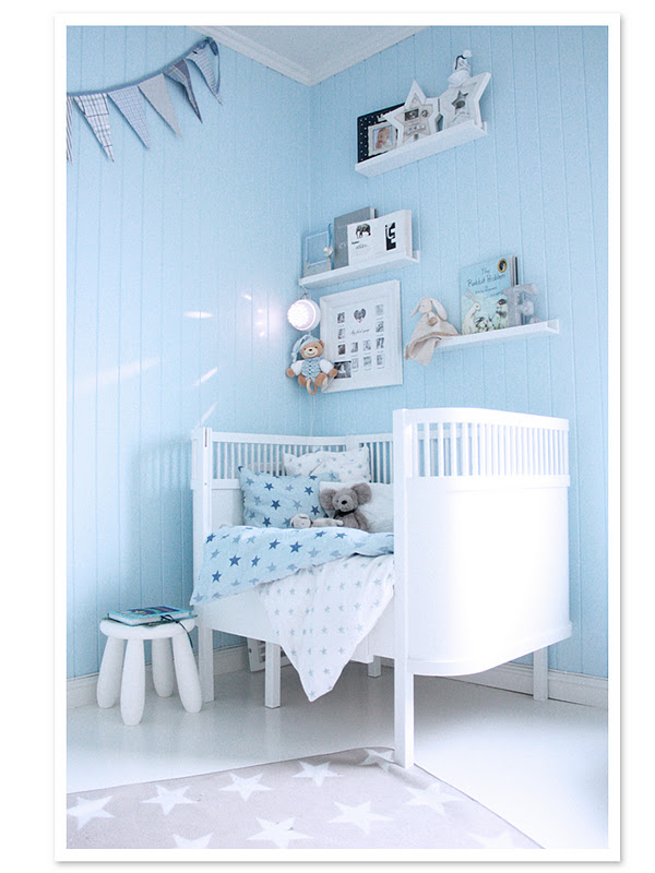 Baby Bedroom Ideas Blue: Katrines Ting: Rom For Rom Barnerom