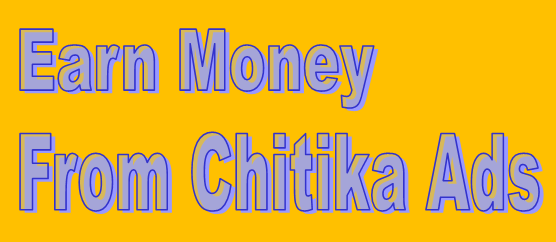 Earn money from chitika ads