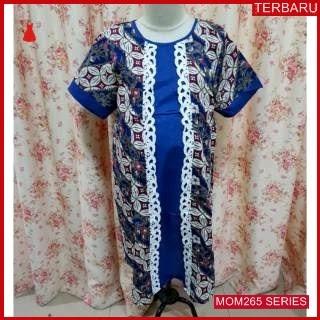MOM265D23 Dress Menyusui Batik Bunga Ukir Dresshamil Ibu Hamil