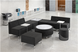 modular lobby seating configuration